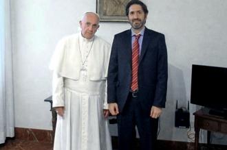 """La prensa italiana asegura que el Papa """"felicitó por su coraje"""" al juez Casanello"""