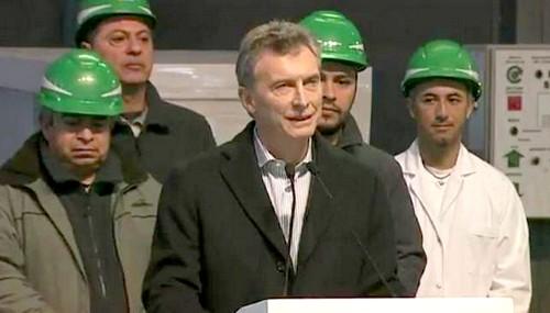 """Macri: """"Las buenas noticias empiezan a llegar"""""""