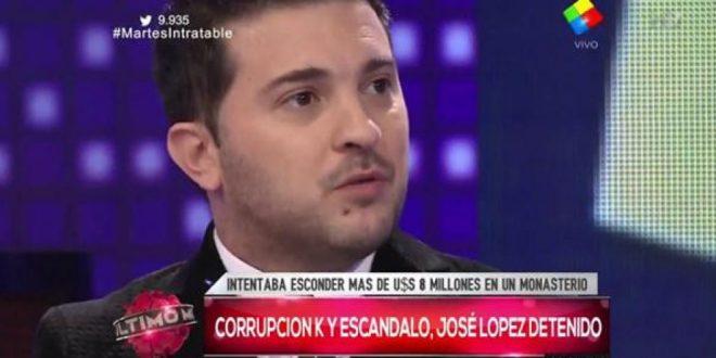 """Video > Brancatelli: """"Lo de José López es el límite, no tengo fuerzas de militar"""""""