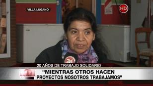 """Margarita Barrientos: """"Todo el día trabajamos para la gente"""""""