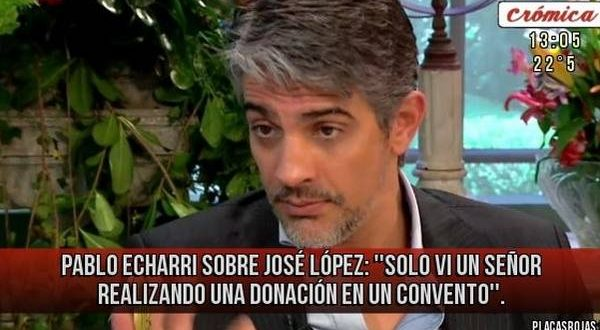 """Video > Pablo Echarri sobre la corrupción Kirchnerista : """"Estoy abatido"""""""
