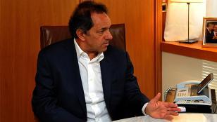 Scioli pide pensión de $130 mil por haber sido vicepresidente