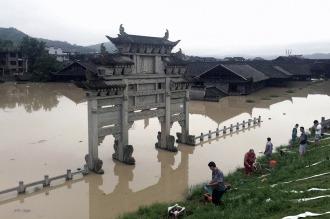 China: ascienden a 33 los muertos por inundaciones