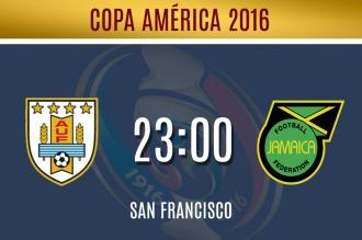 Uruguay afronta el último compromiso de su amarga Copa América Centenario