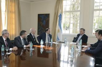 Macri recibió a la DAIA