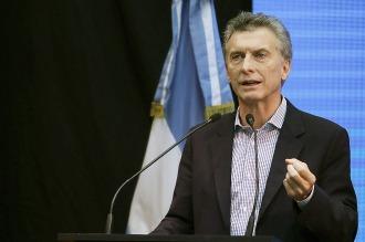 """Macri llamó a """"trabajar juntos"""" por el país"""