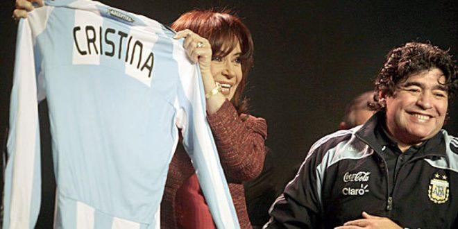 """""""¡Oh vamos a volver!"""": Maradona más Kirchnerista que nunca"""