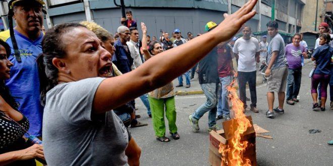 Venezuela: militares robaron alimentos y desataron el caos
