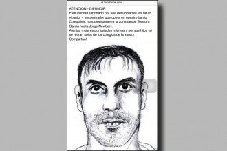 Difundían falso identikit de un violador: era sospechoso del caso Madeleine McCann