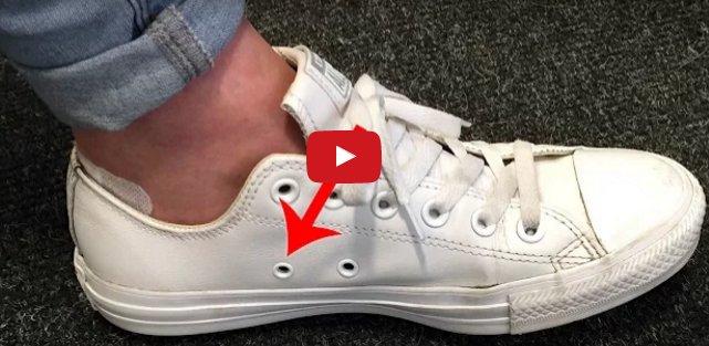 Como se colocan correctamente los cordones en las zapatillas con agujeros laterales