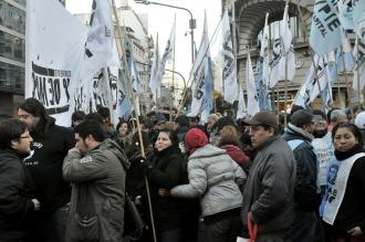 Barrios de Pie comenzó la jornada de protesta con ollas populares en la Ciudad