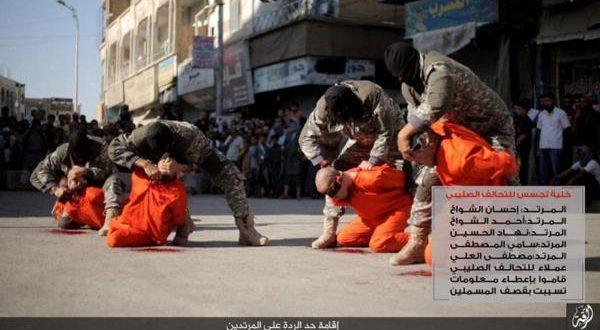El Estado Islámico decapitó a tres jugadores y al entrenador del Al Shahab