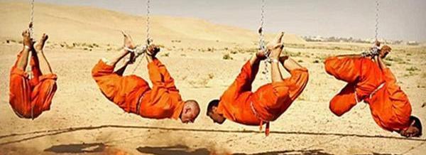 El ISIS sumergió a 7 de sus propios combatientes en agua hirviendo y los ejecutó