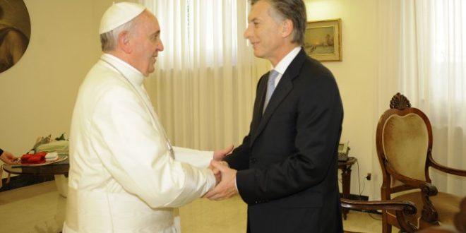 El Papa Francisco recibirá otra vez a Macri
