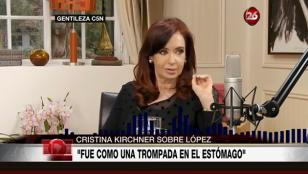 Cristina propuso una auditoría de la obra pública de su gestión