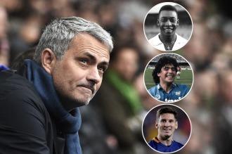 José Mourinho eligió a los tres mejores y se olvidó de Ronaldo