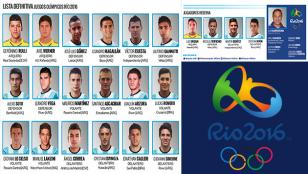 La lista de Río: la Selección que busca una medalla