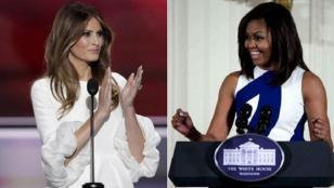Mujer de Trump plagió discurso de Michelle Obama