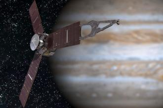 La sonda espacial Juno llega a la órbita de Júpiter tras cinco años de viaje