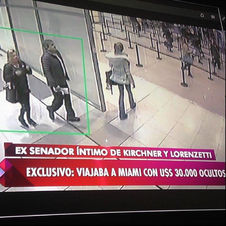 Detuvieron al ex senador Kirchnerista Nicolas Fernandez intentando salir del país con 30 mil dólares en Ezeiza