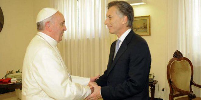 """Papa Francisco:""""No tengo problemas con Macri, es una persona BIEN NACIDA, una persona noble"""""""