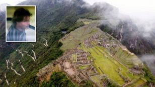 Turista cayó al vacío en Machu Picchu al sacarse una selfie