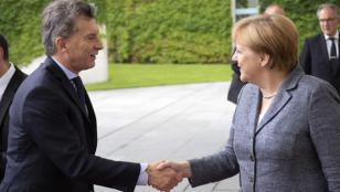 Macri almorzó con Merkel en Berlín