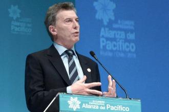 """""""Macri buscó un escenario para su nueva política exterior aperturista"""""""