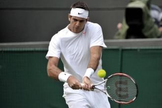 Del Potro fue eliminado y se marchó de Wimbledon con un sabor agridulce