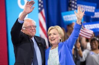 Sanders dio su apoyo a Hillary y consagró la unidad demócrata frente a Trump