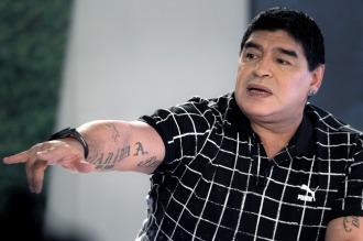 Maradona criticó a los dirigentes de fútbol porque rechazan una auditoría