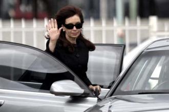 Cristina Kirchner llega a la Capital Federal