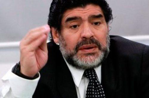 """Maradona: """"El casting de la Selección parece una película de Olmedo y Porcel"""""""