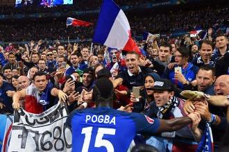 Francia goleó a Islandia, el equipo revelación