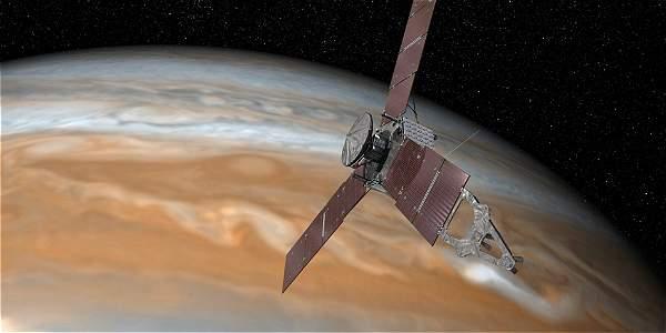 La sonda Juno llegó a la órbita de Júpiter