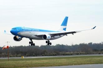 Aerolíneas Argentinas sumó un nuevo Airbus 330-200 a su flota internacional