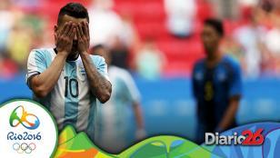 Argentina empató ante Honduras y se despidió de Río