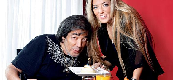 Cacho Castaña se casa con Marina Rosenthal