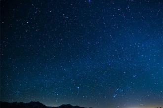 Esta noche Venus, Mercurio, Júpiter y la Luna se verán alineados verticalmente