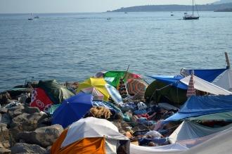 Francia rechazó y devolvió otra vez a migrantes que cruzaron desde Italia