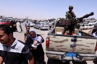 Irak: unos 70.000 civiles son retenidos por el EI para ser usados como escudos