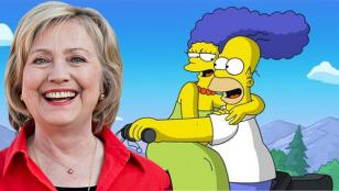 Los Simpsons votan a Hillary Clinton