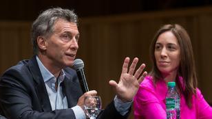 Macri y Vidal encabezaron el timbreo nacional junto a la UCR