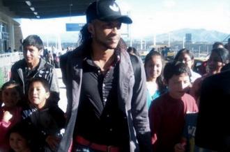 Mina llegó a Argentina para sumarse a River