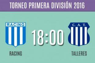 Racing debuta ante Talleres de Córdoba