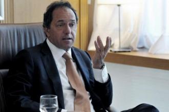 Scioli: El gobierno debe hacer un esfuerzo para escuchar los reclamos