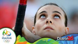 Se retiró Isinbayeva
