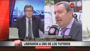 Tuitero fue excarcelado tras amenazas a Macri
