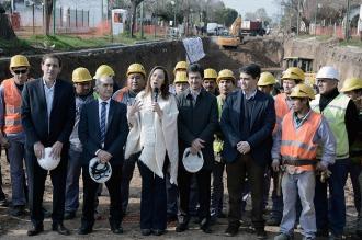 Vidal anunció un Plan de Obras que generará 33.000 puestos de trabajo