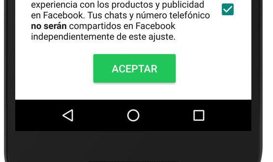 Whatsapp comparte tu información con Facebook, enterate como evitarlo